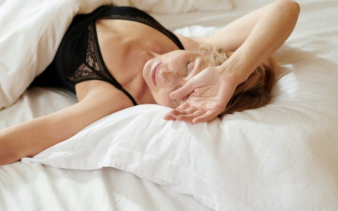 Jeune femme qui s'endort-Marie Duval sophrologue